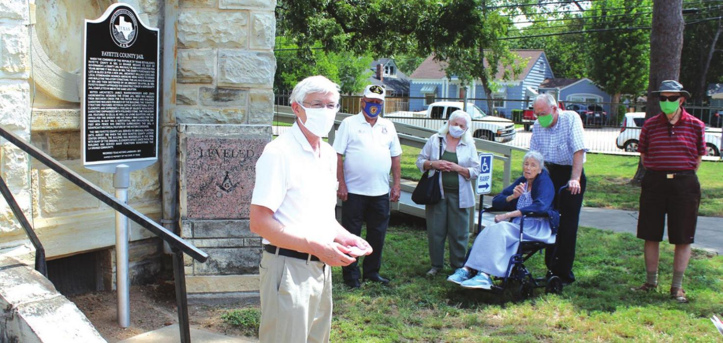 Historical Marker Dedicated At Old Fayette County Jail