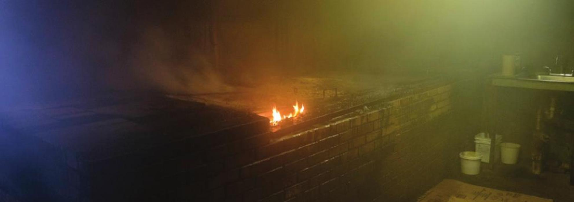 Grease Fire Starts at Former Prause Market