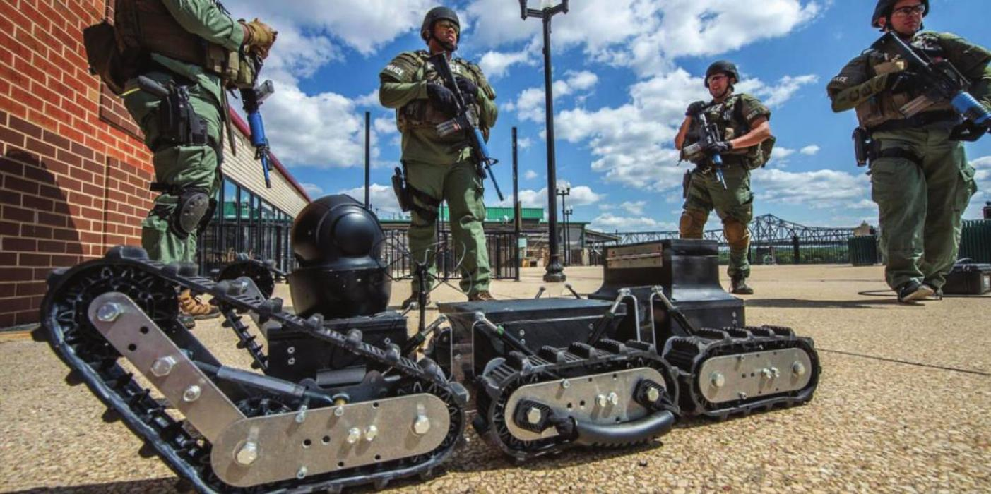 County Purchases Tactical Robot for Law Enforcement