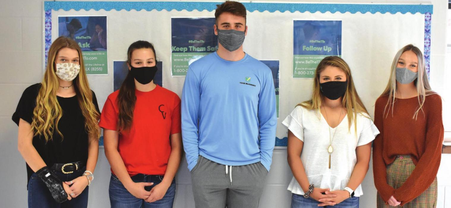 High School Students Work for Suicide Prevention Awareness